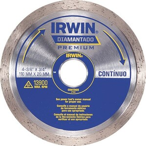 DISCO DIAM. 110MM LISO - IRWIN