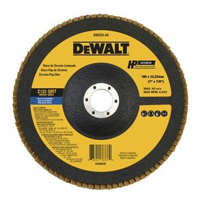 DISCO FLAP 180MM  DEWALT G 120