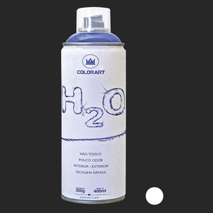 TINTA SPRAY COLORART H2O BRANCO
